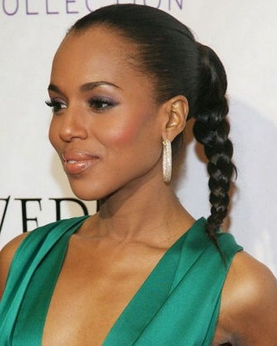 25 updo hairstyles for black women 5simple braided pony updo pmusecretfo Choice Image