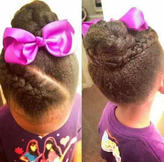 Peachy Little Black Girl Hairstyles 30 Stunning Kids Hairstyles Hairstyles For Men Maxibearus