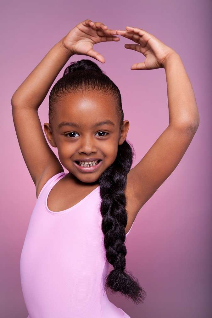 Hairstyles For Black Little Girls cute little fishtail braid with heart httpwwwblackhairinformationcom black girls hairstylescute 12jumbo Braided Hairstyles For Girls