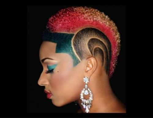 Pleasing 20 Badass Mohawk Hairstyles For Black Women Hairstyle Inspiration Daily Dogsangcom