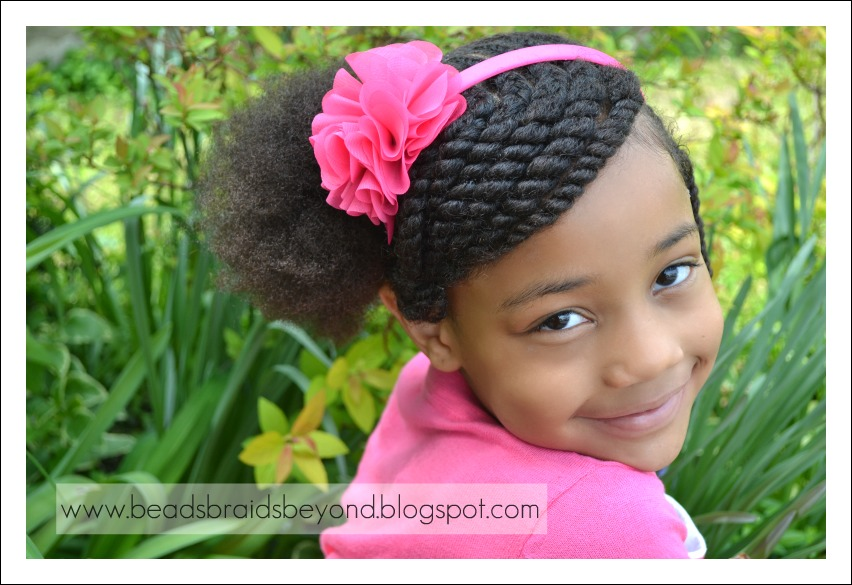 Swell Little Black Girl Hairstyles 30 Stunning Kids Hairstyles Hairstyles For Women Draintrainus