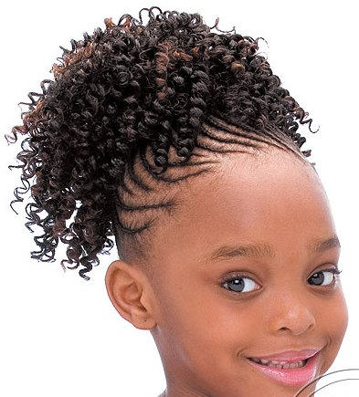 Terrific Little Black Girl Hairstyles 30 Stunning Kids Hairstyles Hairstyle Inspiration Daily Dogsangcom