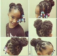 Peachy Little Black Girl Hairstyles 30 Stunning Kids Hairstyles Short Hairstyles Gunalazisus
