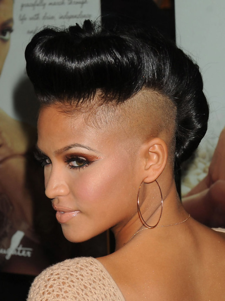 Miraculous 20 Badass Mohawk Hairstyles For Black Women Hairstyle Inspiration Daily Dogsangcom