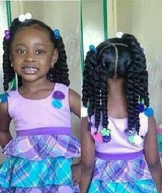 How To Style Black Toddler Girl Hair Little Black Girl Hairstyles  30 Stunning Kids Hairstyles