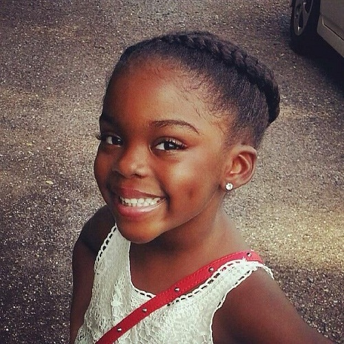 Tremendous Little Black Girl Hairstyles 30 Stunning Kids Hairstyles Hairstyles For Women Draintrainus