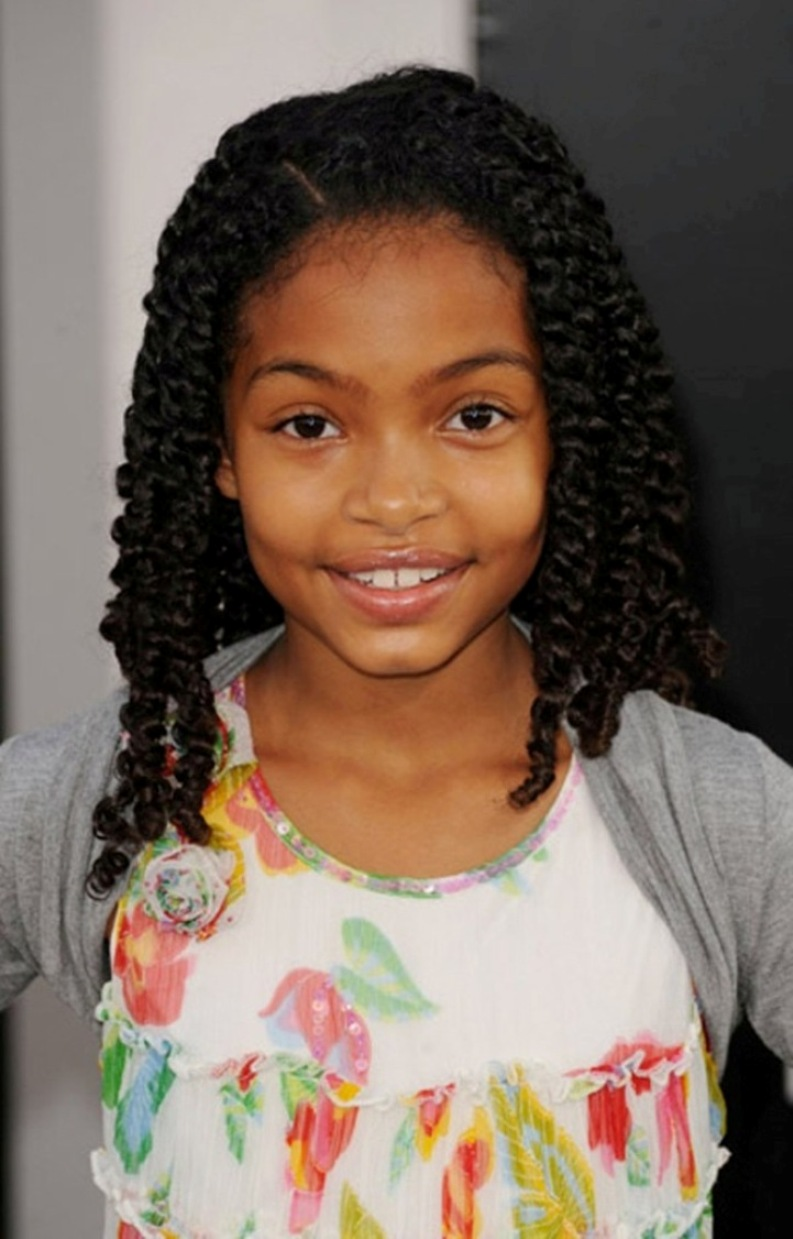 Prime Little Black Girl Hairstyles 30 Stunning Kids Hairstyles Hairstyle Inspiration Daily Dogsangcom