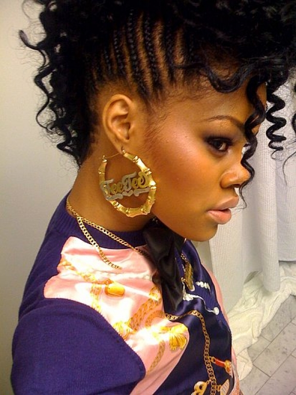 Stupendous 20 Badass Mohawk Hairstyles For Black Women Short Hairstyles For Black Women Fulllsitofus