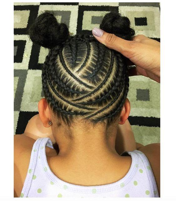 Awe Inspiring Little Black Girl Hairstyles 30 Stunning Kids Hairstyles Hairstyles For Women Draintrainus