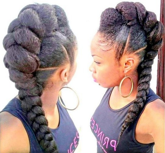 Fabulous 20 Badass Mohawk Hairstyles For Black Women Short Hairstyles For Black Women Fulllsitofus