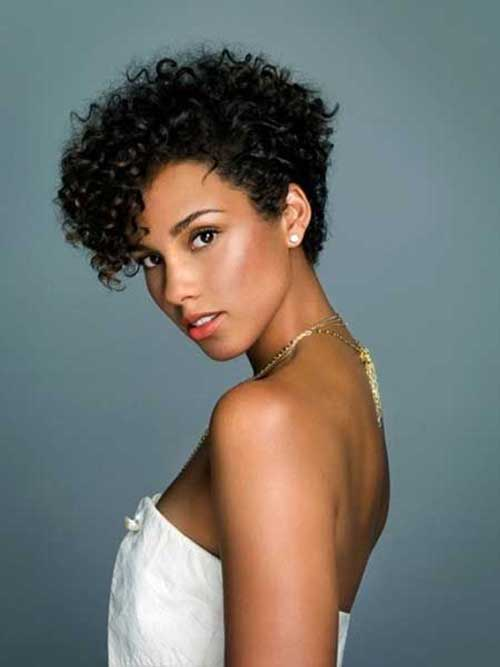 Remarkable Top 25 Short Curly Hairstyles For Black Women Hairstyles For Women Draintrainus