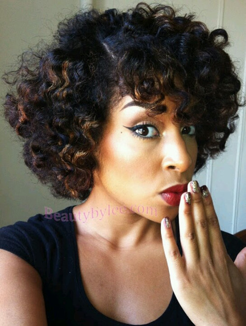 Astonishing Top 25 Short Curly Hairstyles For Black Women Hairstyles For Men Maxibearus