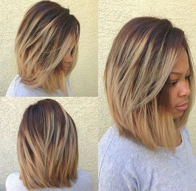 Awe Inspiring Long Bob Hairstyles That Are Totally In Right Now Hairstyle Inspiration Daily Dogsangcom
