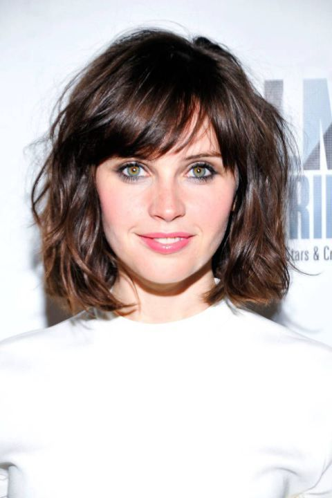 50 gorgeous side swept bangs hairstyles for every face shape 7slightly parted side bangs urmus Image collections
