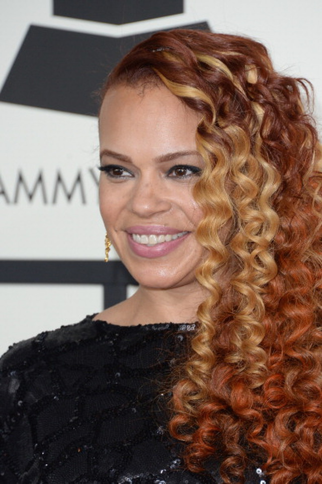 Image result for Faith Evans. mermaid curls
