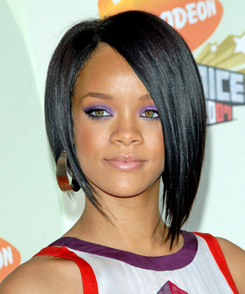Rihanna Hairstyles 40 rihanna hairstyles to inspire your next makeover huffpost 1rihanna Short Hairstyles Short Neck Length Bob