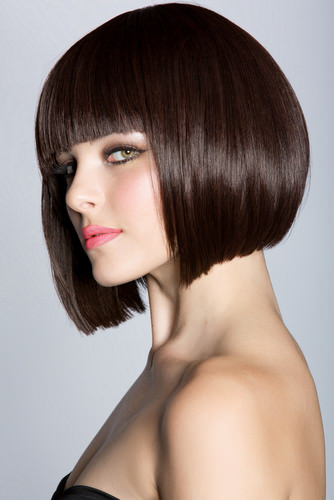 Top 20 a line bob haircuts the hottest bob right now this chin length bob is cut with a subtle a line and has some texture at the ends to keep them from looking too heavy perfect for bringing out light blue urmus Gallery