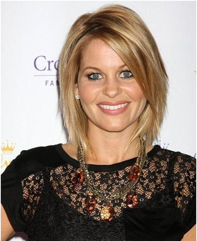 Top 20 a line bob haircuts the hottest bob right now a great choice for women with heart shaped faces this collarbone grazing cut has lots of layers with textured ends while a long bang frames the face in urmus Image collections