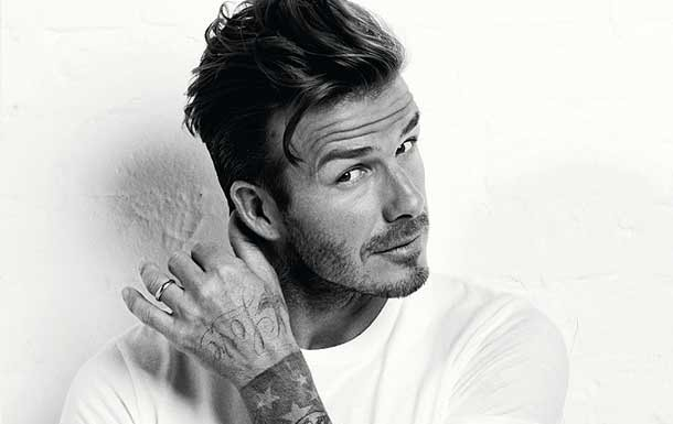 david beckham hairc