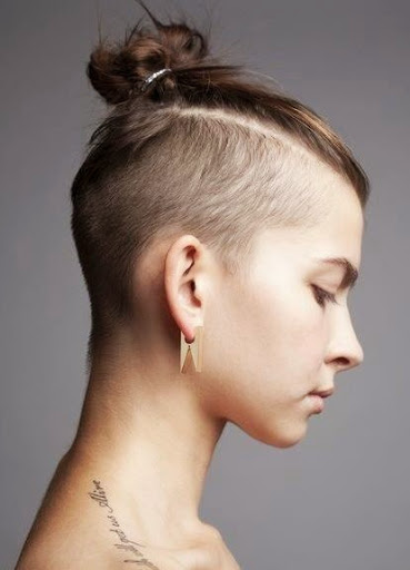 Cool 20 Awesome Undercut Hairstyles For Women Short Hairstyles Gunalazisus