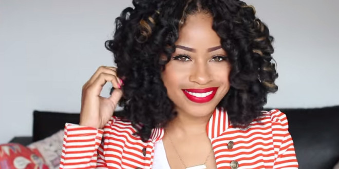 Crochet Braids Middle Part : Crochet Braids Hairstyles