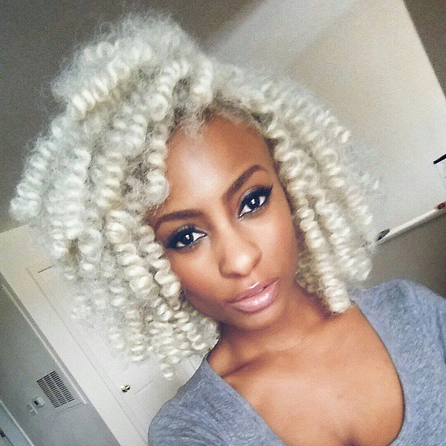 Crochet Braids Blonde : Crochet Braids Hairstyles