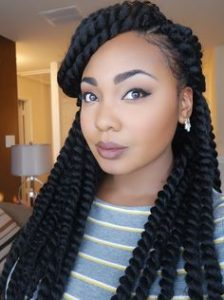 48 crochet braids hairstyles crochet braids inspiration we love these long crochet senegalese twists also known as rope twists this style is achieved by twisting extensions around loose natural hair pmusecretfo Image collections