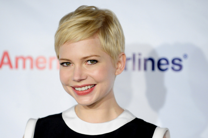 Oscar nominated actress Michelle Williams arrives at the US-Ireland Alliance Pre-Academy Awards event in Santa Monica, California