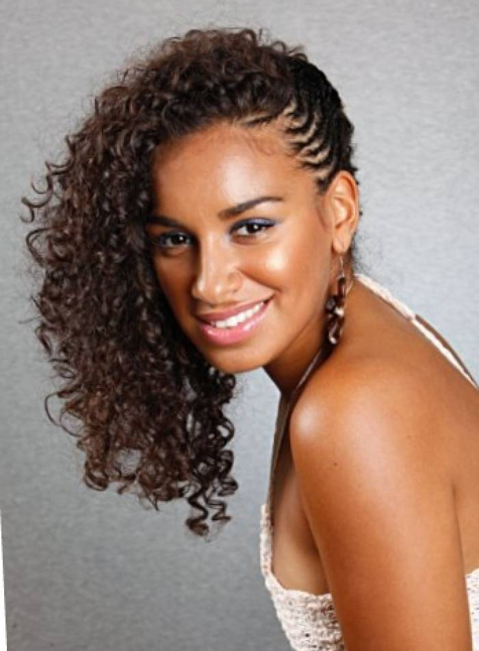 Astounding Black Hairstyles Curly Braids Best Hairstyles 2017 Hairstyle Inspiration Daily Dogsangcom