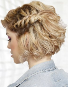 Fine The Prettiest Prom Hairstyles For Short Hair Hair For Prom Short Hairstyles Gunalazisus