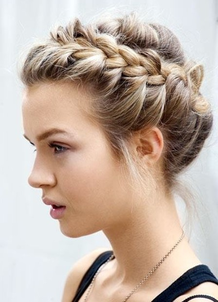 Superb The Prettiest Prom Hairstyles For Short Hair Hair For Prom Short Hairstyles Gunalazisus