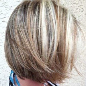 45 sunny and sophisticated brown with blonde highlight looks 26short and straightforward brown blonde highlights urmus Gallery