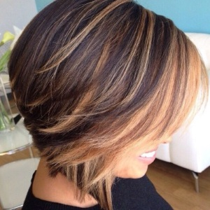Chunky caramel highlights on dark brown hair trendy hairstyles chunky caramel highlights on dark brown hair pmusecretfo Choice Image