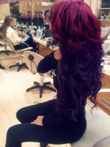20 burgundy hair colors and styles part 12 when burgundy and purple are paired so closely together its hard not to fall in love while this combo certainly crosses the line for some workplaces ie urmus Images
