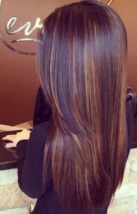 20 stunning caramel hair color looks 18peek a boo treat caramel highlights pmusecretfo Choice Image