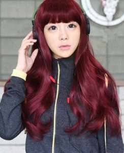 20 Burgundy Hair Colors And Styles Part 4