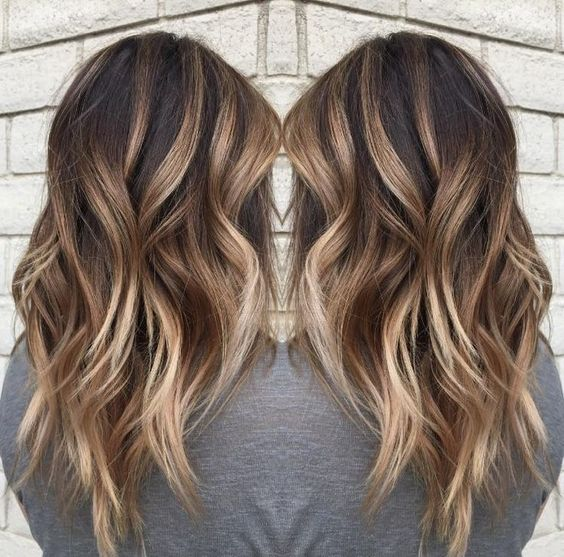 45 sunny and sophisticated brown with blonde highlight looks 7chunky balayage brown blonde highlights pmusecretfo Image collections