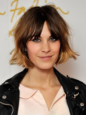 30 Bangs Hairstyles For Short Hair Part 20