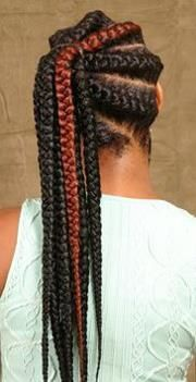 HOW TO  GODDESS BRAIDS PONYTAIL ON NATURAL HAIR  PROTECTIVE STYLE