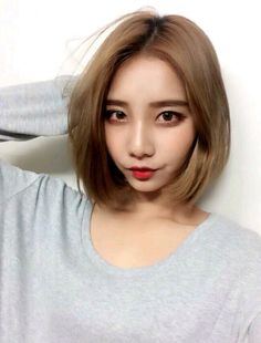 Gorgeous Asian Hairstyles For Girls - Asian short hairstyle 2016