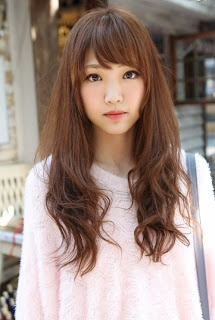 Gorgeous Asian Hairstyles For Girls - Hairstyle korean bangs