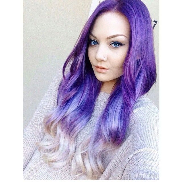 30 lavender hair and purple hair styles 15reverse purple ombre hair pmusecretfo Images