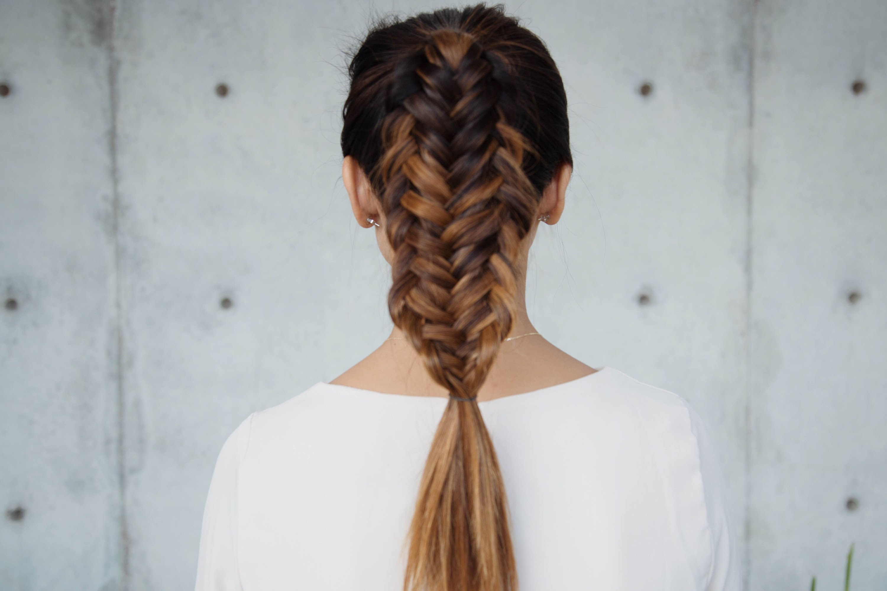 Fishtail Braid Top 25 Beautiful Fishtail Braids