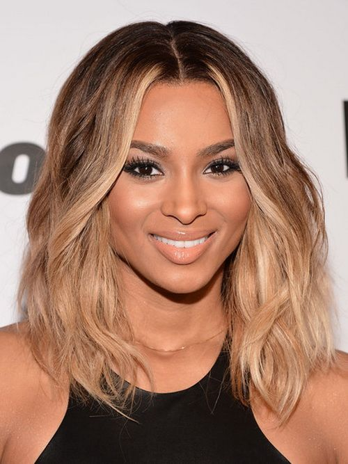 Top 30 dirty blonde hair ideas ciaras medium brunette hair has been enhanced with very strategic honey highlights that frame the face and make the ends of her long bob pop all the way pmusecretfo Choice Image