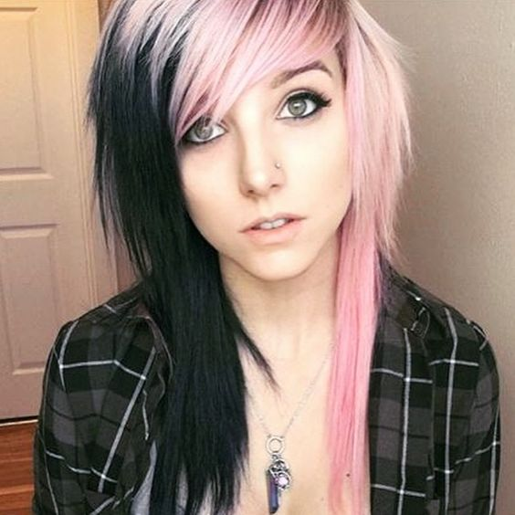 Cute and Creative Emo Hairstyles for Girls | Emo Hair Ideas