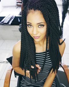 If You Love Long Hair These Crochet Twists Are A Great And Easy To Do Protective Style This Would Look In Any Length For All Skin