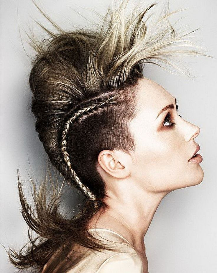 30 Braided Mohawk Styles That Turn Heads - Part 4 Undercut Mohawk
