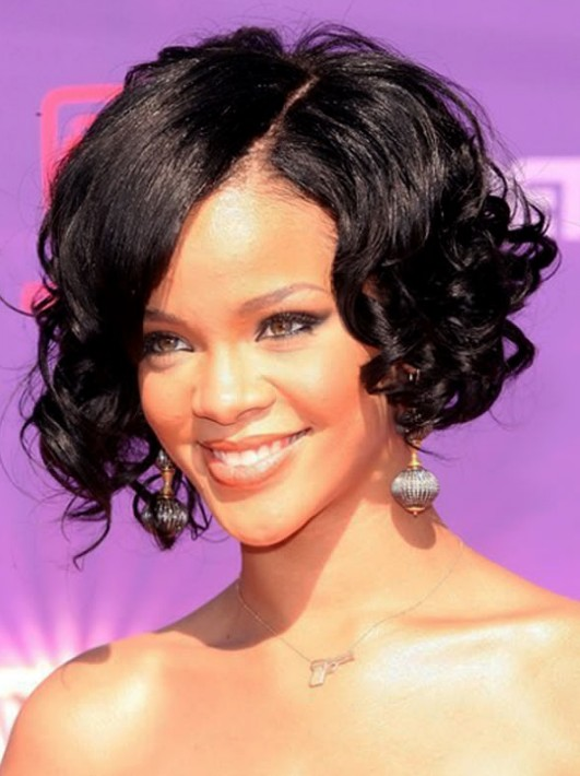 Swell 20 Chic And Beautiful Curly Bob Hairstyles We Adore Hairstyles For Women Draintrainus