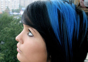 Blue black hair tips and styles dark blue hair dye styles part 18 21cornflower highlight is your jet black hair pmusecretfo Choice Image