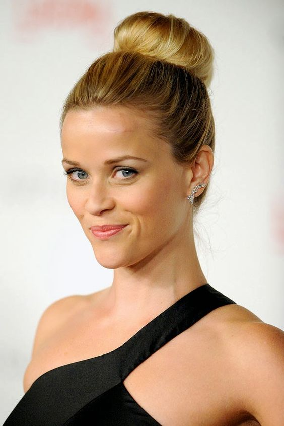 25 elegant hairstyles youll love for any occation 4high bun style pmusecretfo Gallery